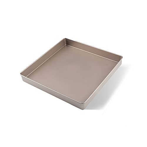 Square Baking Pan 11 Inch Non-Stick Bakeware Sheets Oven Cake/Barbecue Rectangle Cookie Cake Pan