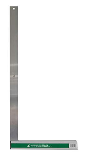シンワ測定(Shinwa Sokutei) アルミ台付スコヤ 700mm 74118