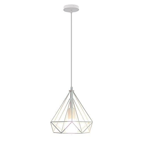Lampada da soffitto retrò, lampada da soffitto in stile industriale, ragno retrò, 25 x 25 cm,...