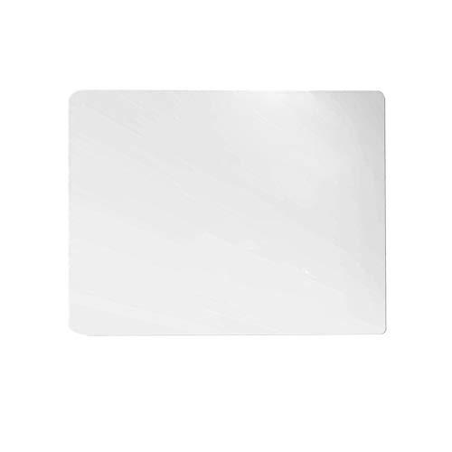 Generic Stolsmatta, transparent klart PVC-golvskydd för hårda golv, laminat, parkett och plattor, halkfri, 61 x 53 cm – 2,0 mm matt