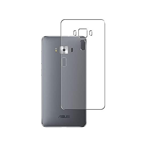 Vaxson 2 Stück Rückseite Schutzfolie, kompatibel mit Asus Zenfone3 Deluxe ZS570KL Zenfone 3, Backcover Skin TPU Folie [nicht Panzerglas/nicht Front Bildschirmschutzfolie]