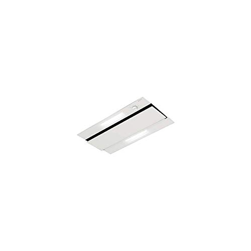 NOVY 874 - Campana (470 m³/h, Canalizado, 59 dB, De techo, Transparente, Blanco, Vidrio, Acero inoxidable)
