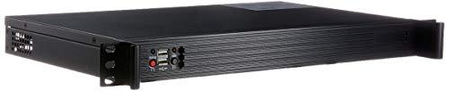 Rack Max RM-1911 19 Zoll Server-Gehäuse 1HE, Mini-ITX, 1x 3,5 Zoll oder 2X 2,5 Zoll, 1x PCI/PCIe, 2X Lüfter, schwarz