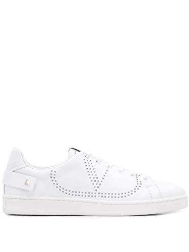 Valentino Luxury Fashion Garavani Damen TW2S0M20CYE0BO Weiss Leder Sneakers | Jahreszeit Permanent