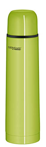 ThermoCafé Thermosflasche Edelstahl Everyday, Edelstahl grün 700ml, Isolierflasche 4058.278.075 auslaufsicher, Thermoskanne mit Becher hät 12 Stunden heiß, 24 Stunden kalt, BPA-Free