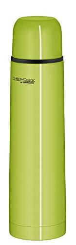 ThermoCafé by THERMOS 4058.278.070 Thermosflasche Everyday, Edelstahl Apfelgrün 0,7 l, Drehverschluss mit Trinkbecher, BPA-Free