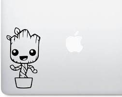 Sticker bébé groot sticker bébé groot groot guardian of galaxy groot decal baby groot little groot danse baby groot groot decal portable 12,7 cm