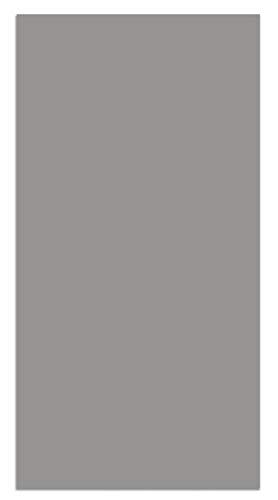 Panorama Alfombra Vinílica Lisa Gris 80x150 cm - Alfombra Cocina Vinilo - Alfombra Salón Antideslizante, Antihongos e Ignífuga - Alfombras Grandes - Alfombras PVC