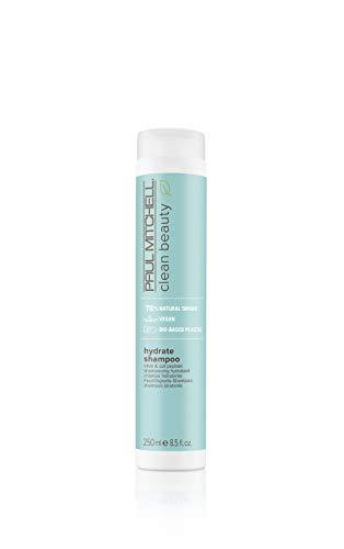 Paul Mitchell Clean Beauty Hydrate Shampoo – reichhaltige Haar-Wäsche mit Oliven-Öl, feuchtigkeitsspendende Hair-Care für trockenes Haar – 250 ml