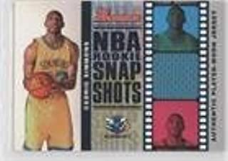 Cedric Simmons #91/199 (Basketball Card) 2006-07 Bowman Draft Picks & Stars NBA Rookie Snap Shots Jerseys #RSR-CS