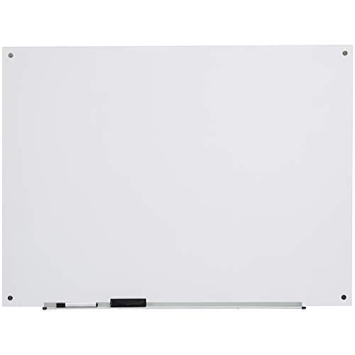 AmazonBasics - Trocken abwischbares Whiteboard aus Milchglas, nicht magnetisch, 1,21 x 0,91 m
