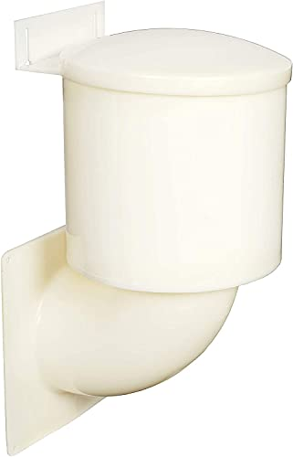 Heartland Natural Energy Saving Dryer Vent Closure - Outside Heartland Dryer Vent Cover Adapts to Outdoor Siding