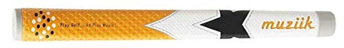 感度外国人売上高muziik グリップ パター グリップ ムジーク ワンスター PCV ORBK ユニセックス PCV-OR/BWH-01