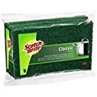 Scotch-Brite Estropajo Clásico, Verde, 25x21x16 cm, 10 Unidades