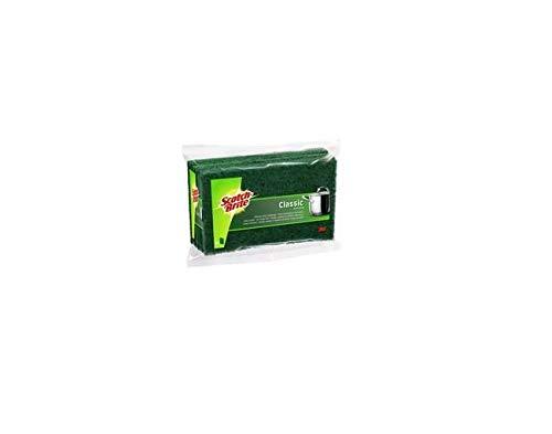 Scotch-Brite Estropajo Clásico, Verde, 25x21x16 cm, 10