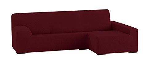 Eysa Ulises - Funda para chaise longue elástica, color granate