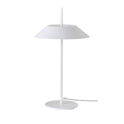 YONGJUN Lampe De Table En Fer - Lampe De Table Salon Chambre Bar Moderne Minimaliste Personnalité Industrielle Lampe De Table Vintage En Fer Forgé (Color : White)