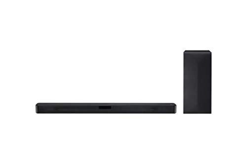 LG SN4 Soundbar TV Bluetooth 300W 2.1 Canali con Subwoofer Wireless, Tecnologia DTS Virtual:X, Dolby...