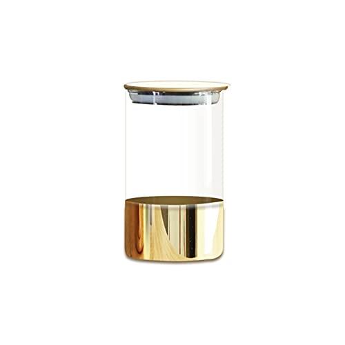 XIANGE100-SHOP Vidrio Café Almacenamiento Almacenamiento Snack Secado Fruta Tanque de Almacenamiento Hogar Cocina Adornos de Almacenamiento Almacenamiento (Size : 1000ml)