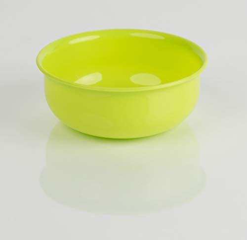 Kimmel Schüssel Schale Müsli Suppe Kunststoff Plastik Mehrweg bruchsicher stapelbar 10 cm, Limone