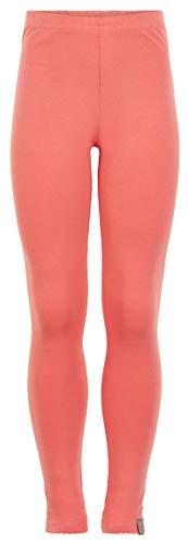 Creamie Lange Leggings in Apricot aus weichem BW Jersey verzierter Abschluß 820880 (152)