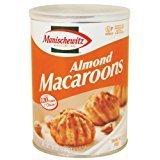 Manischewitz Almond Macaroons Gluten Free Kosher For Passover 10 oz. Pack of 3.
