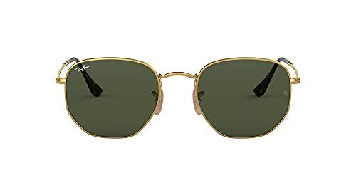 Ray-Ban Rb3548n Occhiali da Sole, Verde-Oro, 51 Unisex-Adulto