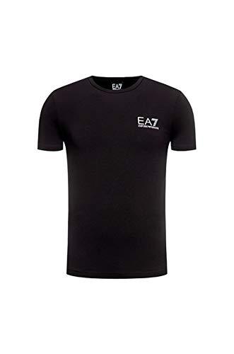 EA7 Train Logo Series Tape T-Shirt Herren
