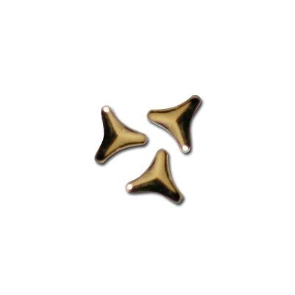 好きマインドフル続編ピアドラ スタッズ トライアングルマーク 2mm 50P ゴールド