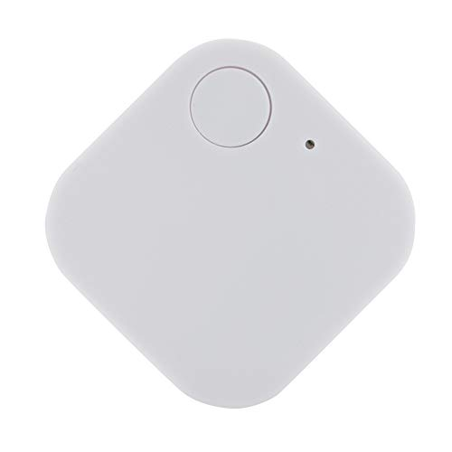 Wireless Key Finder Tracker Locator Smart Finder Anti Lost Alarm Base Support for Keys, Dogs, Cats, Wallet, Cell Phone, Best Gifts(White)