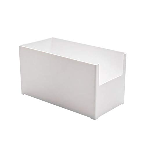 DECDEAL Compartimento de armazenamento de mesa Organizadores de congeladores domésticos Compartimento de armazenamento de alimentos Recipiente de armazenamento de cozinha para armário de cozinha Desp