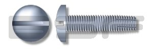 8-32X5 8 Slotted Pan Superlatite Thread Cutting Fully Be super welcome Type Threaded Screw F