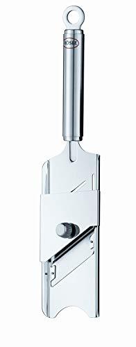 RÖSLE Gourmethobel, Edelstahl 18/10, Länge 28 cm, Klinge verstellbar