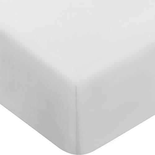 Utopia Bedding Fitted Sheet Queen,White