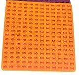 SkingHong Hundekekse Backmatte Set 2cm - 192stk Knochen Fisch Silikon Backform für Hundeleckerlies,...