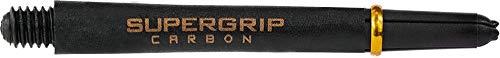 Harrows Supergrip Carbon Schäfte – 1 Set (3), schwarz/goldfarben, Tweenie