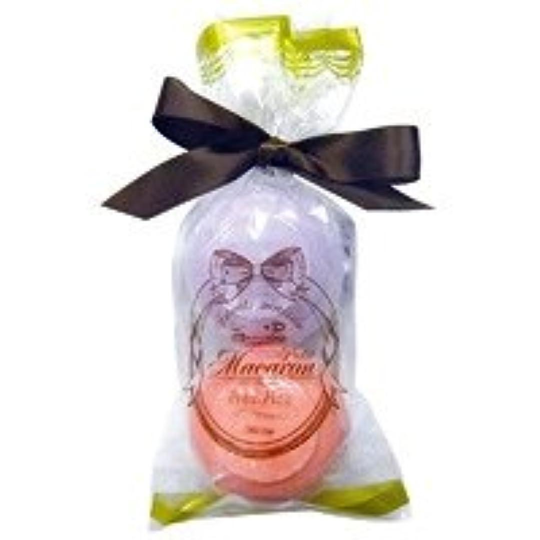 悲しい重量何かスウィーツメゾン プチマカロンミニセット「パープル&ダークピンク」6個セット フルーティーなザクロの香り&華やかなローズの香り