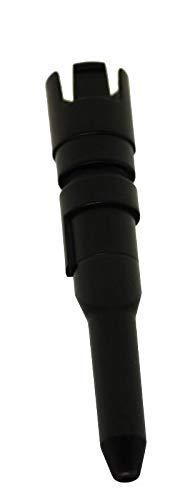 Innenrohr Milchaufschäumer 5313214381 kompatibel mit /Ersatzteil für DeLonghi CAM25120, ECAM23420, ECAM23426 Kaffeevollautomat