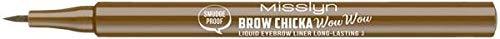 Misslyn Liquid Eyebrow Pencil, 1 ml