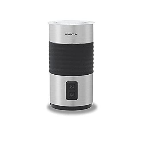 Inventum MK460 Schiumatore per latte automatico Nero, Acciaio inossidabile montalatte