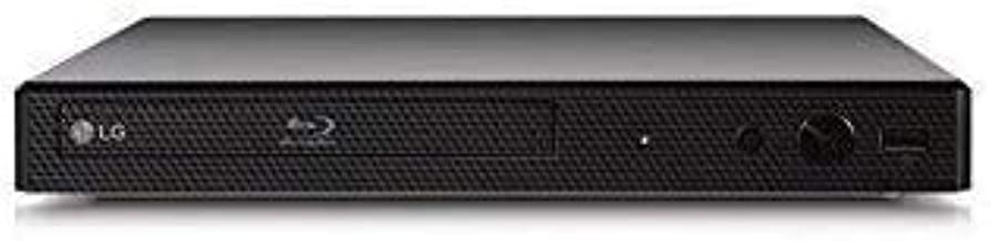 LG BP175 Region Free Blu-ray Player, Multi Region 110-240 Volts, 6FT HDMI Cable & Dynastar Plug Adapter Bundle Package (Re...