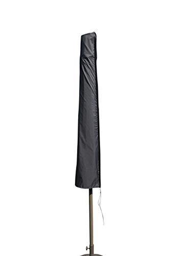 SORARA Housse de Protection Hydrofuge pour Parasol comme Ø 300 cm de diamètre | Gris