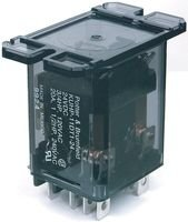 TE CONNECTIVITY/POTTER & BRUMFIELD KUHP-11AT1-120 POWER RELAY, DPDT, 120VAC, 20A, FLANGE