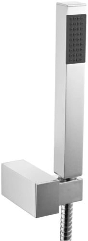 Generic NV_1001002458_NH_EUR17.. WALL BRACKET HOLDER & WAL CHROME IBLE SLIM SHOWER HANDSET WITH F SOLID BRASS ER HA WITH FLEXIBLE HOSE SLIM