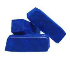 Rayher 3103210 Farbpigmente für Wachs und Kerzen-Gel, dunkelblau, 1 x 1 x 2,9 cm, Btl. 3 Stück, Kerzenwachs färben, intensive Farbgebung