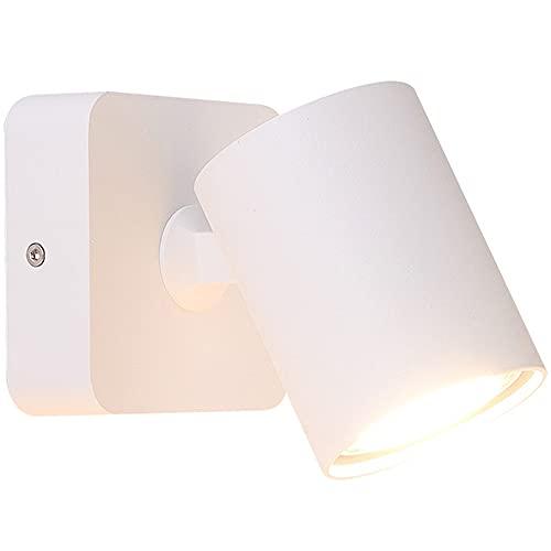 YBright Moderna industria luces de pared Nordic Macaron estilo de pared giratoria de la lámpara de pared sin/desactivado Sconce Lighting Night Lampes Lámparas de lectura GU10 Socket para niños Dormi