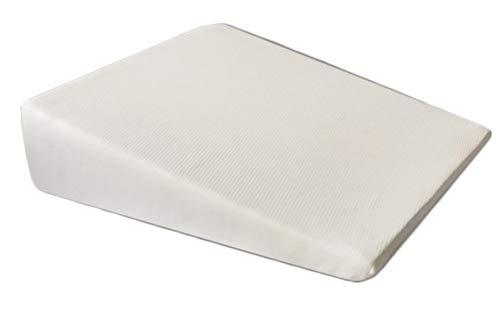 Viscoelastisches Anti-Reflux Kissen, Ergonomisch (60 x 65 x 24 /5 cm), Alternativ auch als Lesekissen fürs Bett, Baby Kissen oder Rücken-Kissen zum Aufrecht-Sitzen