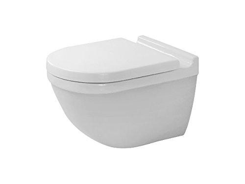 Duravit Wand-WC Starck 3 540 mm Tiefspüler, rimless, rafix, weiß Wondergliss , 25270900001