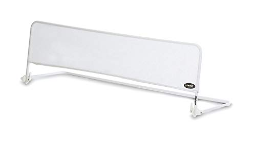 Jané 050225C01 - Barrera de Cama Abatible en Color Blanco, Largo 144 Cm