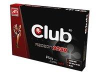 CLUB3D Radeon 9250 256MB DDR GDDR - Grafikkarten (GDDR, AGP 8X)